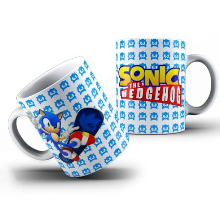Caneca Sonic The Hedgehog