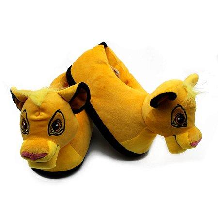 Pantufa Rei Leão Simba