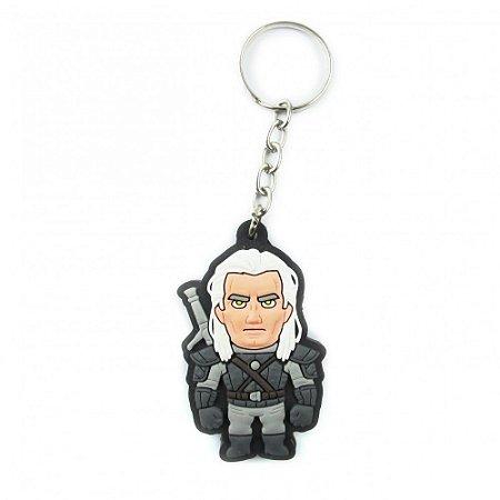 Chaveiro emborrachado Geralt