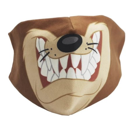 Máscara de proteção veludo Taz