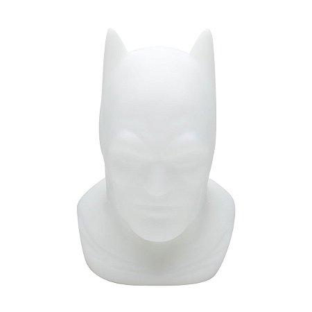 Luminária DC Batman Head Branco 32x20x22cm