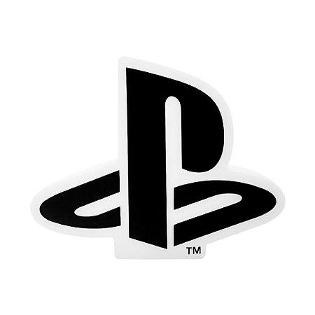 Luminária Playstation Logo Branco