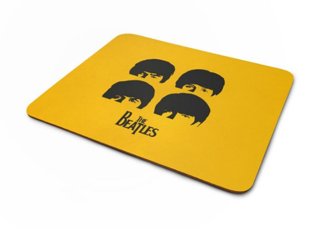 Mouse pad Beatles Yellow
