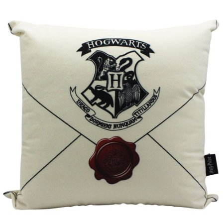 Almofada Harry Potter Carta de Hogwarts 40x40