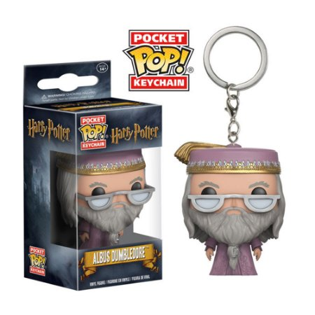 Chaveiro Pocket Funko Albus Dumbledore