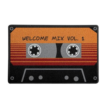 Capacho geek Welcome mixtape - 60x40 cm