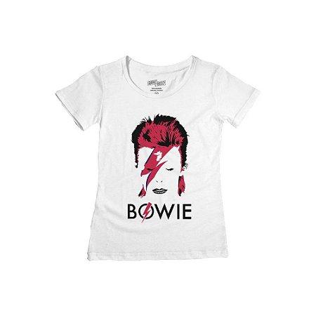 Camiseta Feminina David Bowie Alladin Sane