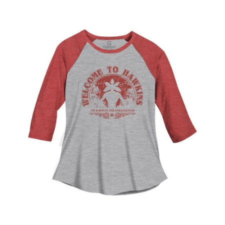 Camiseta Feminina Welcome To Hawkins