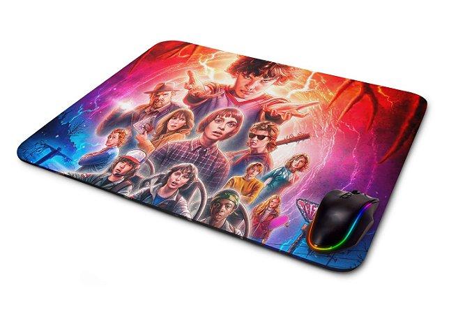 Mouse pad Gamer Coisas Estranhas