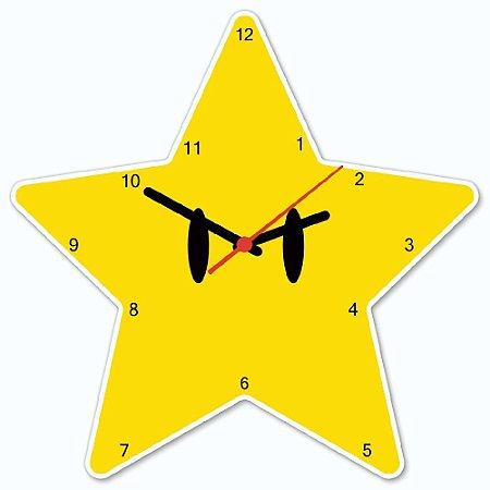Relógio de Parede Super Estrela