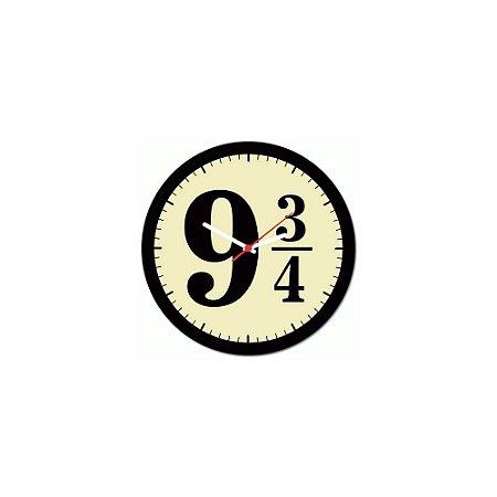 Relógio de Parede 9 3/4 Bruxinhos