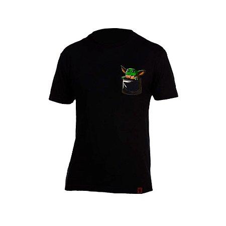 Camiseta Yoda Jedi Pocket