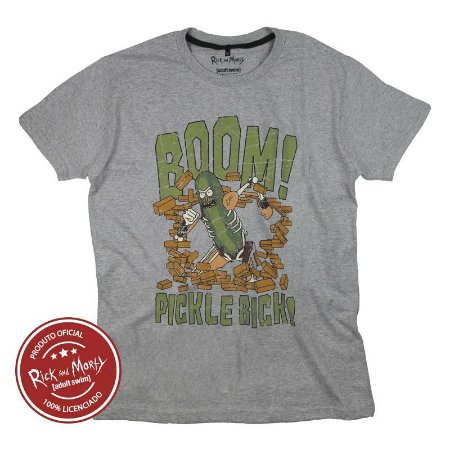 Camiseta Rick and Morty Pickle Rick