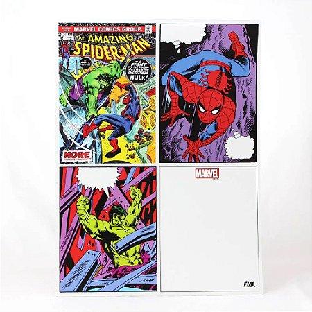 Imã de Geladeira Quadrinhos Marvel