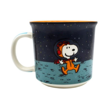 Caneca Snoopy space 350ml