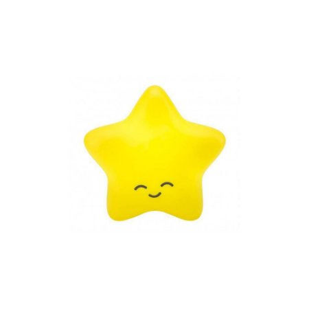 Estrela Luminária com fio Amarela