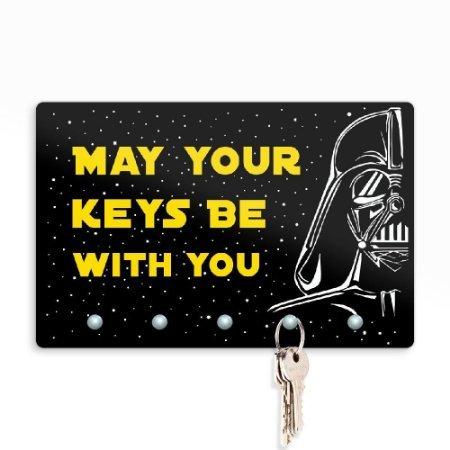 Porta Chaves May Your Keys Be With You