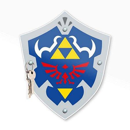 Porta Chaves Escudo Gamer
