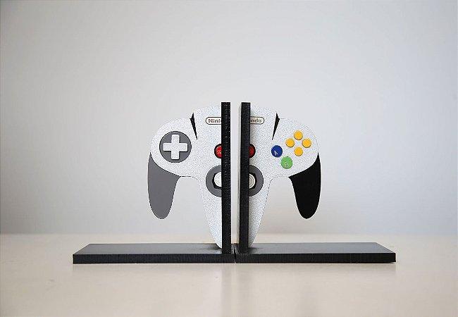 Aparador de Livros Controle Nintendo