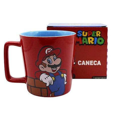 Caneca Buck 400ml Mario Bros