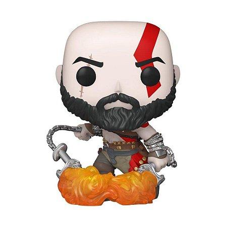 Funko Kratos com lâminas do caos #154