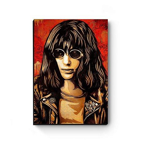 Quadro decorativo MDF Joey Ramone MOD2