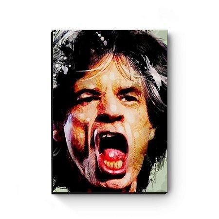 Quadro decorativo MDF Mick Jagger MOD2