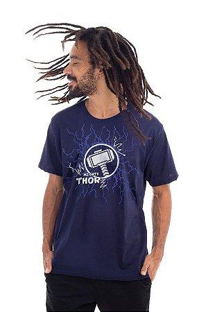 Camiseta Thor logo azul marinho