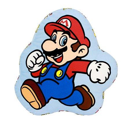 Almofada Formato Fibra Mario Evergreen