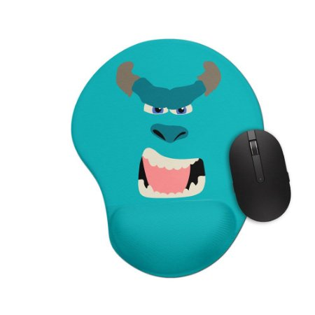 Mousepad Ergonômico Monstros S.A Sulley