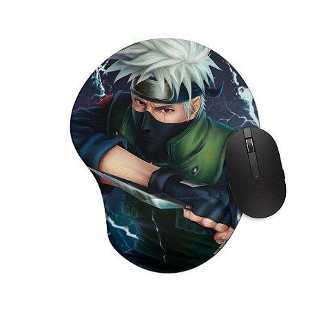 Mouse pad Ergonômico Naruto Kakashi