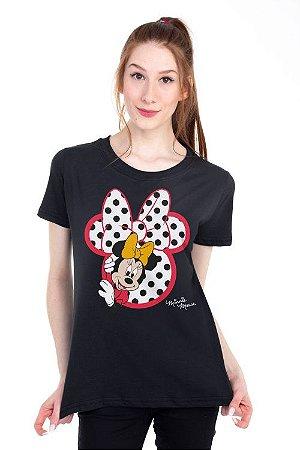 Camiseta Minnie Silhueta