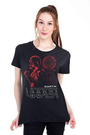 Camiseta Feminina Star Wars Darth Vader