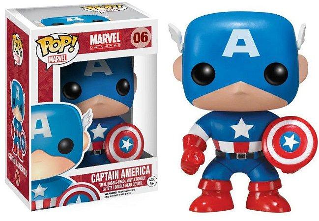 Funko Capitão América #06