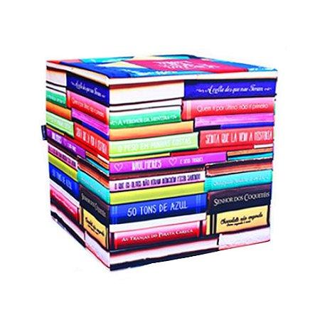Pufe Livros