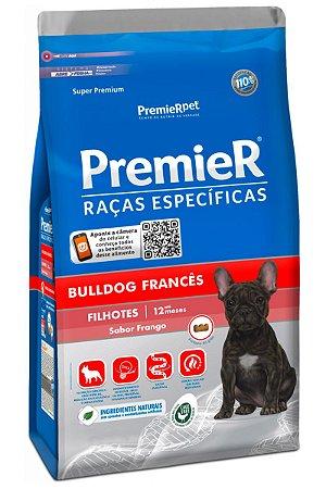 Ração Premier Raças Específicas Bulldog Francês para Cães Filhotes Sabor Frango - 1kg