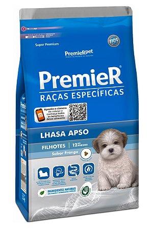 Ração Premier Raças Específicas Lhasa Apso para Cães Filhotes Sabor Frango - 1kg