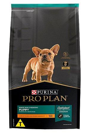 Ração Nestlé Purina Pro Plan Puppy para Filhotes Minis e Pequenos - 1kg