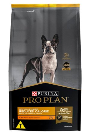 Ração Nestlé Purina Pro Plan Reduced Calorie para Cães Adultos Minis e Pequenos - 1kg