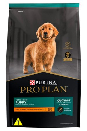 Ração Nestlé Purina Pro Plan Puppy para Filhotes Médios - 2,5kg