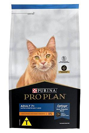 Ração Nestlé Purina Pro Plan para Gatos Adultos 7+ Sabor Frango - 400g