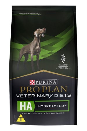 Ração Nestlé Purina Pro Plan Veterinary Diets HA Hydrolized para Cães Adultos - 2kg