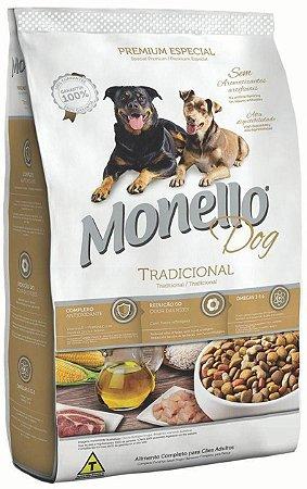 Ração Monello Dog Tradicional para Cães Adultos - 7kg, 15kg ou 25kg