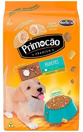 Ração Primocão Sabor Carne e Leite Todas as Raças para Cães Filhotes de 10,1kg ou 20kg