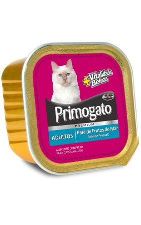 Patê Primogato Frutos do Mar para Gatos Adultos - 150g