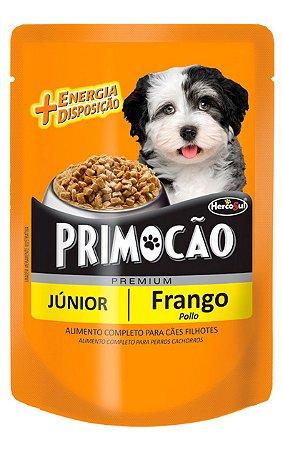 Ração Úmida Primocão Sachê Sabor Frango para Cães Filhotes - 100 g