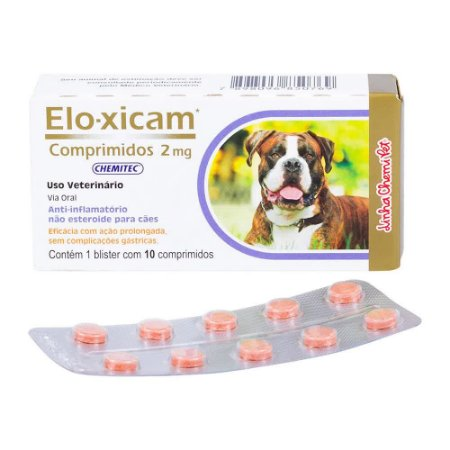 Elo-Xicam 2,0mg Chemitec C/ 10 Comprimidos