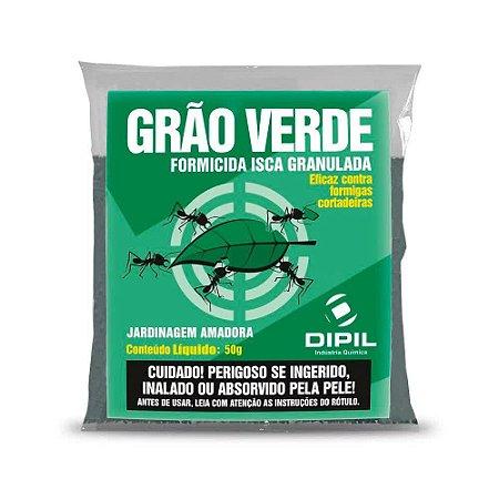 Formicida Isca Grão Verde para Formigas - 50g