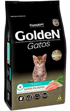 Ração Golden Sabor Frango para Gatos Filhotes - 3Kg