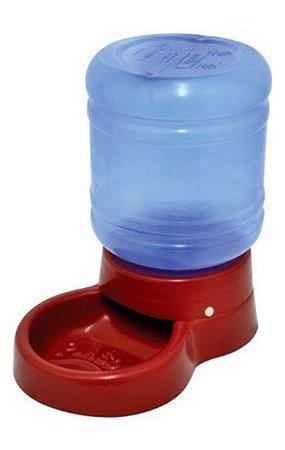 Bebedouro Galão 10 litros Automático Vermelho - Plasdog